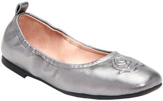 Taryn Rose Rosalie Weatherproof Leather Ballet Flat
