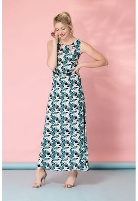 M&Co Izabel printed maxi dress