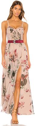 PatBO x REVOLVE Carolina Belted Bustier Dress
