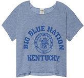 PINK University Of Kentucky Cropped Crew