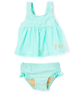 Juicy Couture Aqua 'Juicy' Tankini - Infant Toddler & Girls