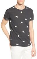 Scotch & Soda Men's Bird Print T-Shirt