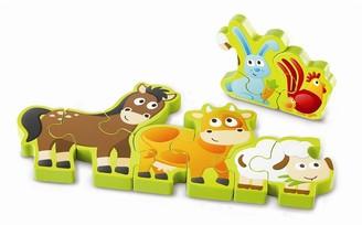 Hape Numbers & Farm Animals Puzzle