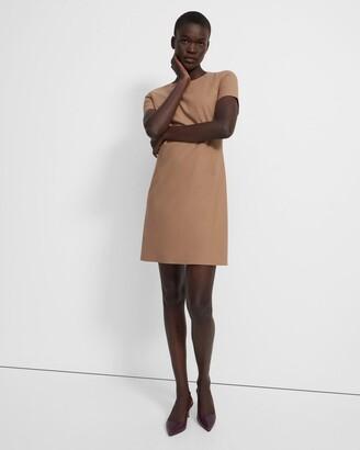 Theory Sheath Dress in Good Wool
