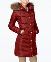 MICHAEL Michael Kors Faux-Fur-Trim Hooded Down Coat