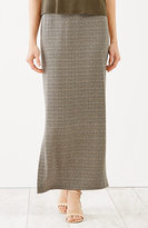J. Jill Wearever Printed Maxi Skirt