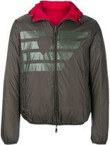 Armani Jeans branded zipped jacket