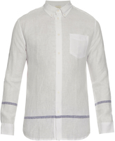 Solid & Striped The Button Down linen shirt