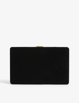 Anya Hindmarch Velvet clutch bag