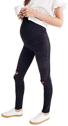 Madewell Maternity Over-the-Belly Skinny Jeans in Black Sea (Black Sea) Women's Jeans