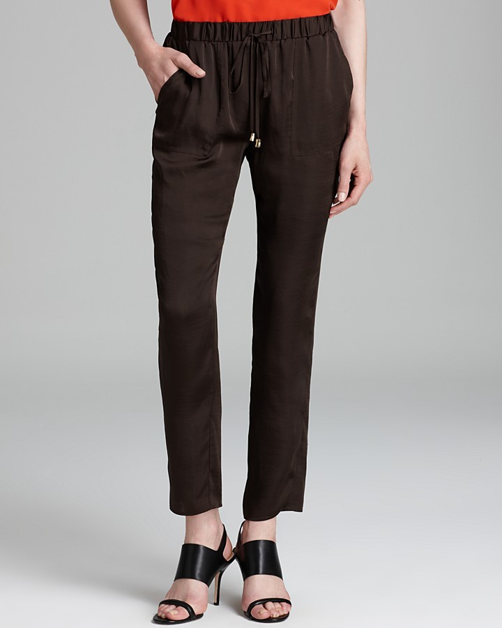 Vince Camuto Drawstring Slouchy Pants