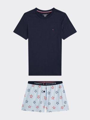 Tommy Hilfiger Pure Cotton Short Sleeve Pyjama Set