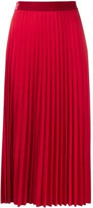 Guardaroba high waisted pleated skirt