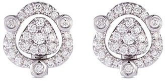 Lc Collection Jewellery 'Versatile' diamond 18k white gold stud earrings