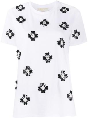 MICHAEL Michael Kors embellished crew neck T-Shirt