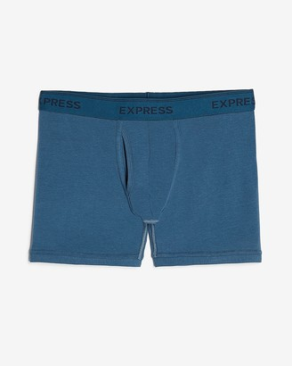 Express Solid Supersoft Boxer Briefs