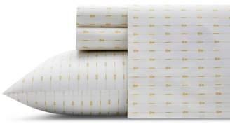 Tommy Bahama Pineapple Pinstripe Standard Pillowcase, Pair