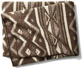 Woolrich Somerton Jacquard Throw - Brown