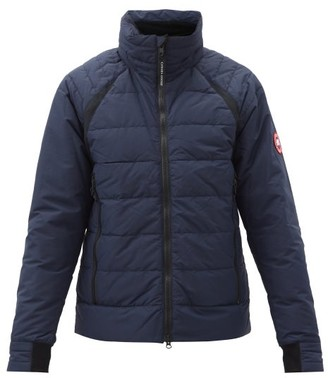 Canada Goose Hybridge Base Hooded Down Jacket - Navy