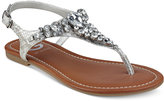 G by Guess Londean Embellished Flat Sandals