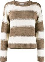 Fabiana Filippi chunky knit striped sweater