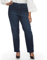 Gloria Vanderbilt Plus Size Amanda High-Rise Jeans