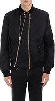 Givenchy Men's Tech-Satin Bomber Jacket-BLACK