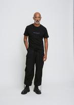 Yohji Yamamoto black new era tee