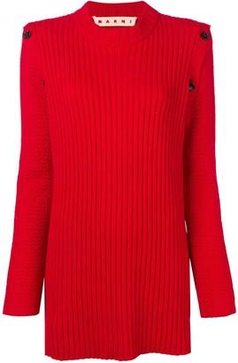 Marni Long Rib Sweater