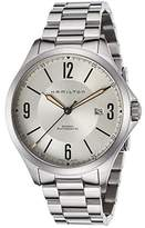 Hamilton Men's Khaki Aviation Automatic Stainless Steel Silver-Tone Dial