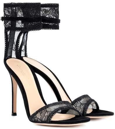 Gianvito Rossi Lace sandals