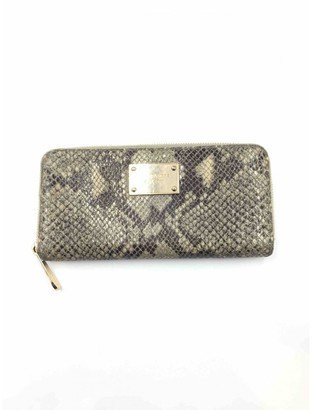 Michael Kors Grey Cloth Wallets