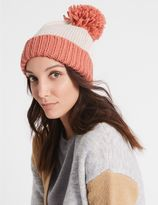 Marks and Spencer Bobble Winter Hat