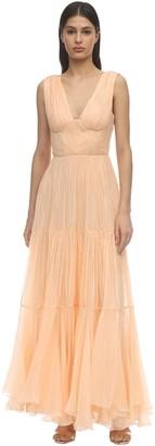 Maria Lucia Hohan Mairi Long Moussoline Dress