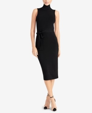 Rachel Roy Sleeveless Turtleneck Bodycon Dress