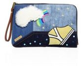 Marc Jacobs Flat Denim Pouch