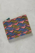 Anthropologie Beaded Triangles Pouch