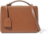 Mark Cross Grace Small Textured-leather Shoulder Bag - Brown