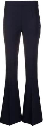 Blanca Vita Skinny Fit Flared Trousers