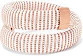 Carolina Bucci Caro Rose Gold-plated And Cotton Bracelet - one size
