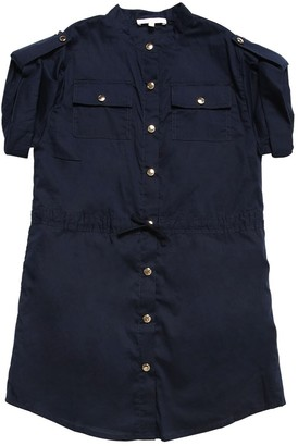 Chloé Short Sleeved Cotton Dress