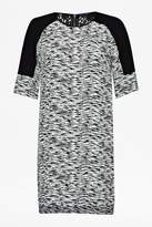 French Connection Sahara wave texture dress