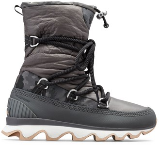 Sorel Kinetic Waterpoof Faux Fur-Lined Outdoor Boots