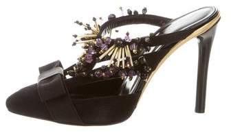 Oscar de la Renta Laiana Embellished Mule w/ Tags