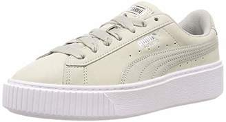 Puma Women's Platform Shimmer WN's Low-Top Sneakers, Pink (Bridal Rose White)