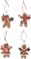 Kurt Adler 4-Inch Claydough Gingerbread Ornament