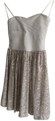 Erin Fetherston Ecru Glitter Dress for Women