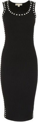 MICHAEL Michael Kors Embellished Fitted Dress