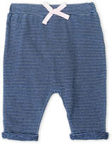 Splendid Newborn/Infant Girls) Indigo Stripe Joggers