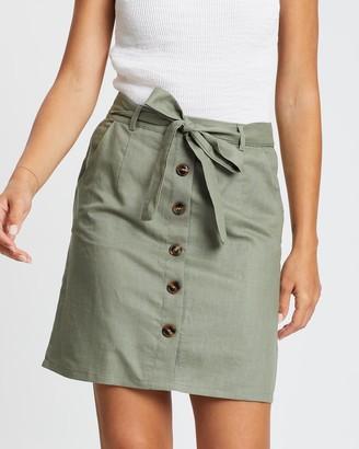 Fresh Soul Cavallo Linen Skirt